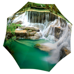 Designer umbrella with gift box Thailand Waterfall