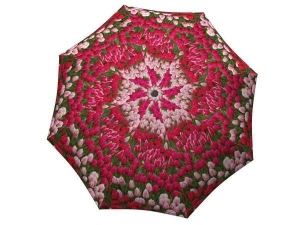 Designer Rain Umbrella with gift box Tulips