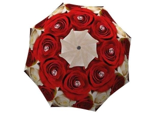 Designer Rain Umbrella with gift box Wedding Roses