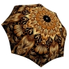 Rain umbrella with gift box Gold Floral Ornament