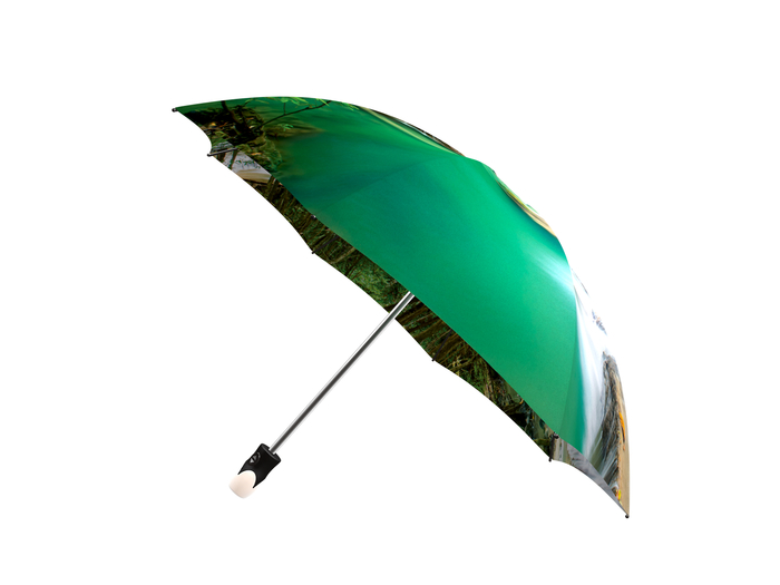 Good quality folding umbrella with gift box Thailand Waterfall