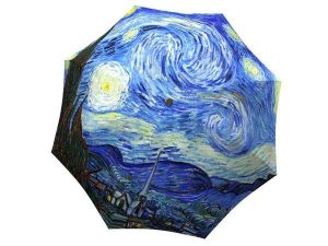 Designer Rain Umbrella with gift box Van Gogh Starry Night
