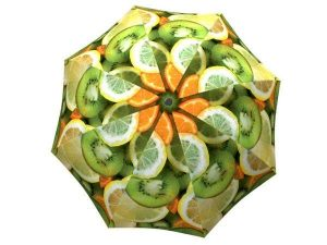 Designer Rain Umbrella with gift box Vitamin C