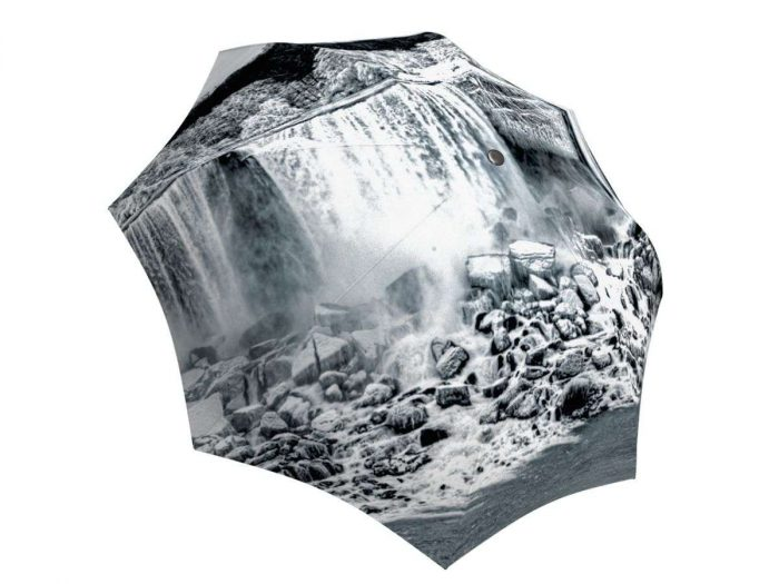 Rain umbrella with gift box - Canadian Waterfall