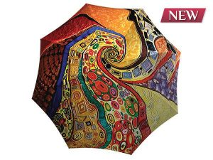 Unique umbrella with gift box - Klimt