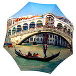 Designer umbrella with gift box Venice