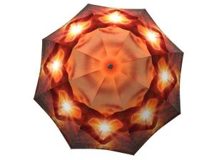 Designer Rain Umbrella with gift box Love at Sunset