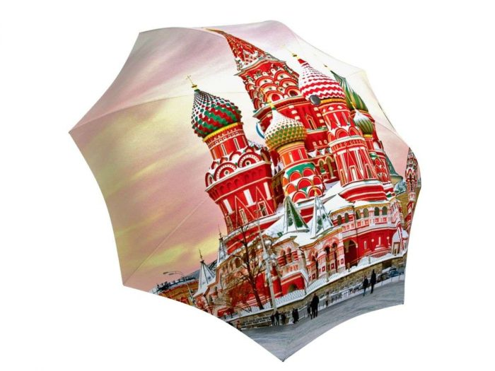 Rain umbrella with gift box - Moscow