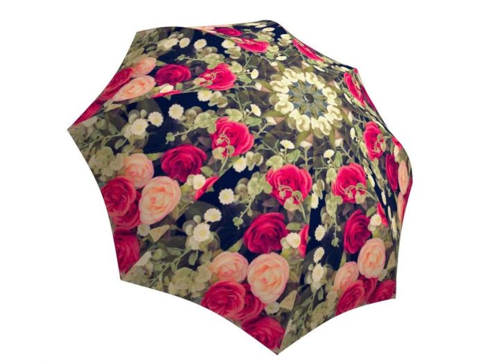 Rain umbrella with gift box - Vintage Roses