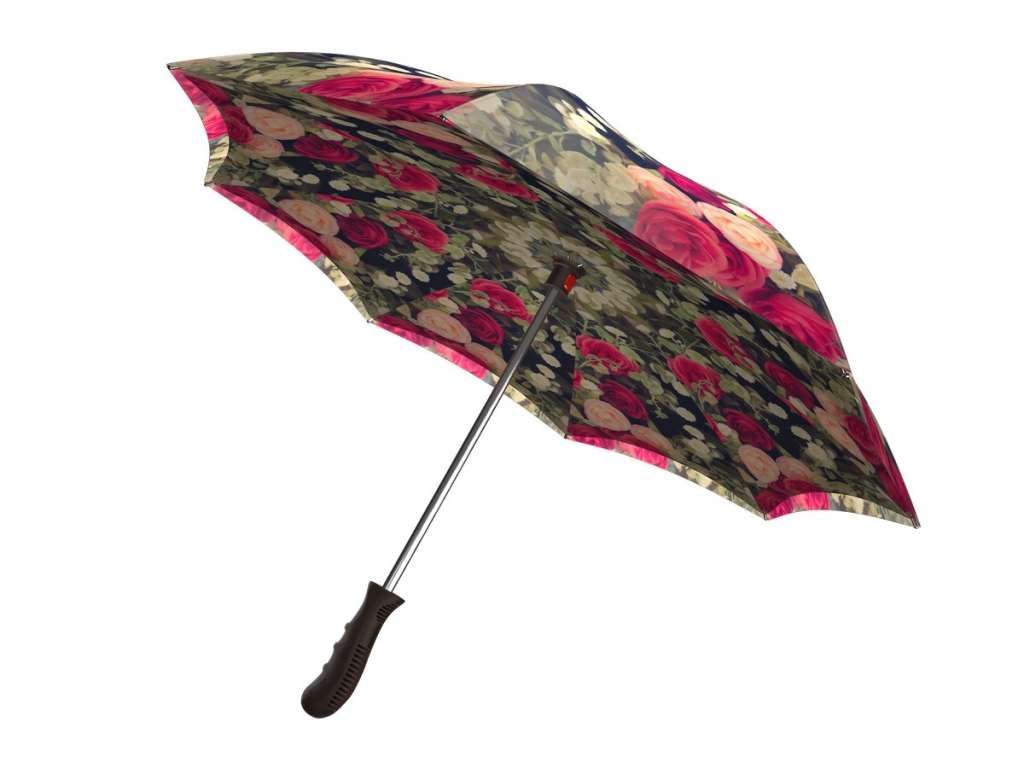 Upside down umbrella - Vintage Roses