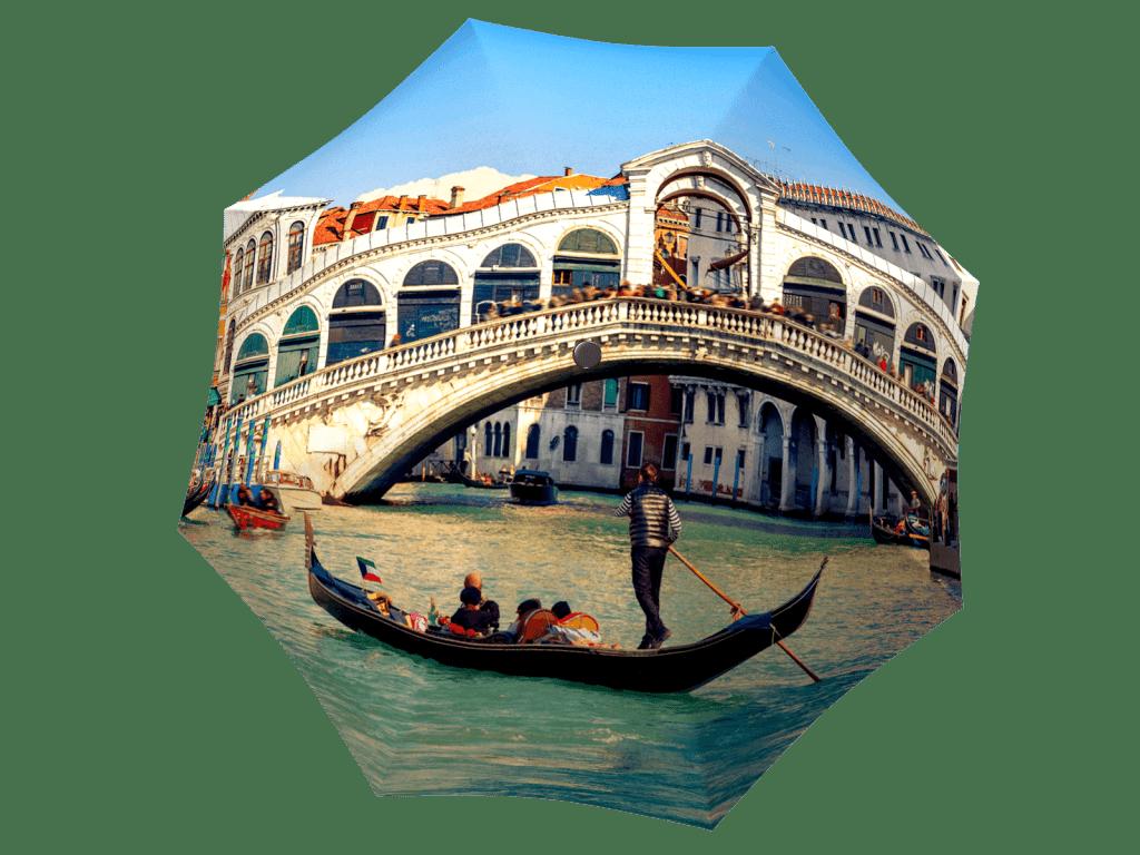 Umbrella with gift box Venice