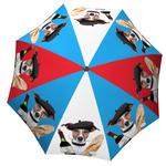 Designer umbrella with gift box French Dog