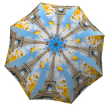 Designer umbrella with gift box Paris