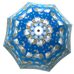 Designer umbrella with gift box Raining Money