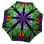 Designer umbrella with gift box Peacock