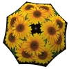 Designer umbrella with gift box Sunflowers
