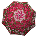 Designer umbrella with gift box Tulips
