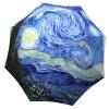 Designer umbrella with gift box Van Gogh Starry Night