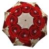 Designer umbrella with gift box Wedding Roses