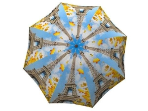 Designer Rain Umbrella with gift box Paris