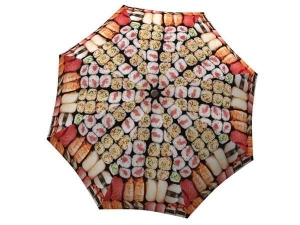 Designer Rain Umbrella with gift box All You Can Eat Sushi
