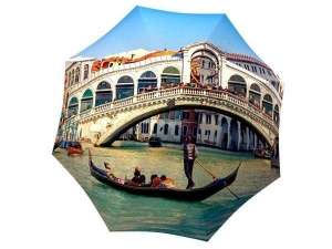 Designer Rain Umbrella with gift box Venice