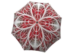 Designer Rain Umbrella with gift box Winter Wonderland