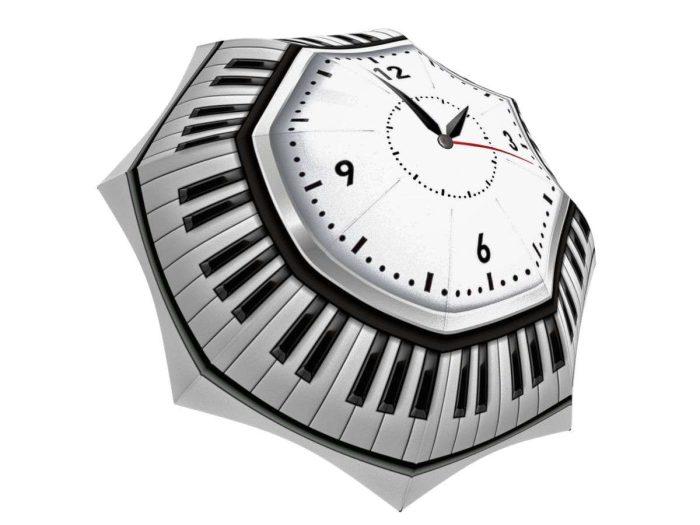 Rain umbrella with gift box - Clock