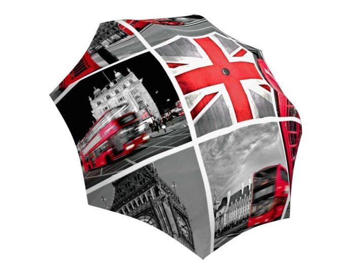 Rain umbrella with gift box - London
