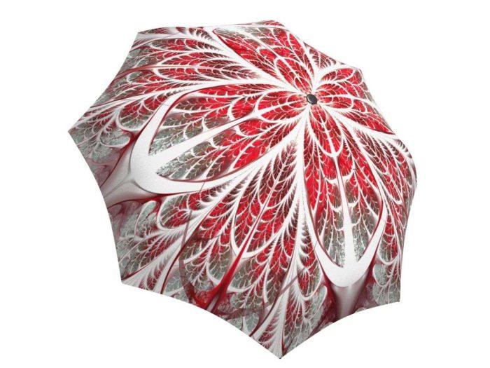 Rain umbrella with gift box - Winter Wonderland